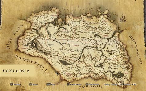 maps special edition 1783708042 paper world map for sse at skyrim special edition nexus mods and community