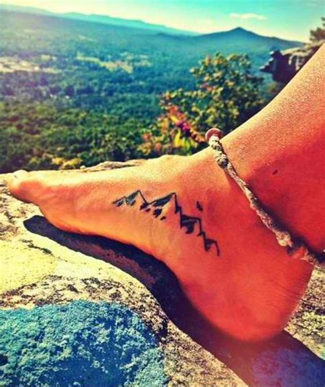 40 awesome mountain tattoo designs for men and women