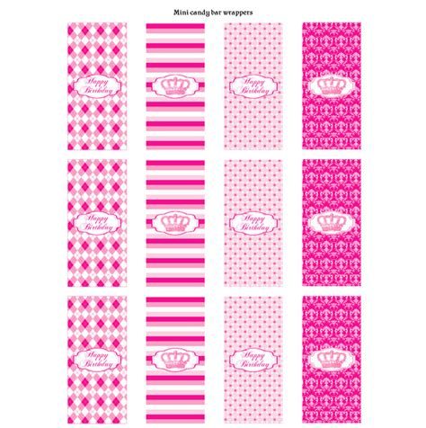 5 best images of printable candy bar wrappers printable