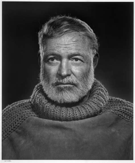 Always Sober Ernest Hemingway mcmliv or 1954 dg s b b