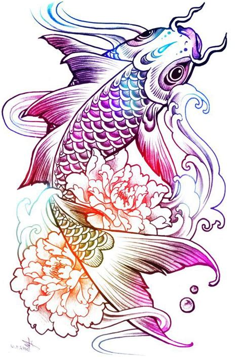 rainbow fish tattoo 1000 ideas about rainbow tattoos on and