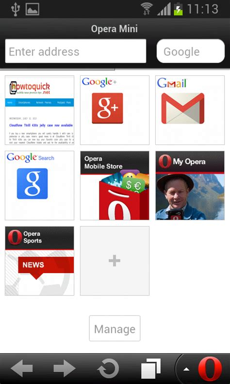 operamin apk opera mini for android no exit button by default howtoquick net