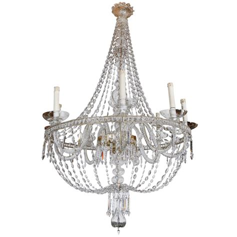 Murano Glass Chandelier Italy Large Italian Murano Glass Chandelier At 1stdibs