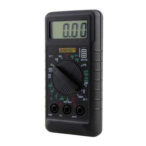 Multimeter Mini mini portable lcd digital multimeter voltage ac dc ohm