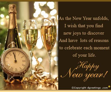 send happy  year messages dgreetings