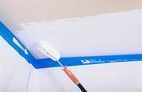 How To Paint Ceiling Edges by Painting Interiors