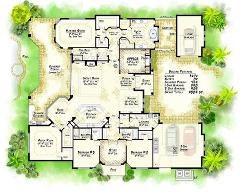collection model traditional floor plan