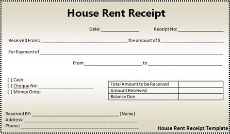 Rent Receipt Template Australia by Rent Receipts Click On The Button To Get This