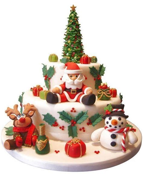 what are some inspiring ways to decorate christmas cake