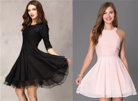 Baju Pesta Bunga Hitam Putih Dress 40 ide model dress pesta modern terbaik 2017 ragam fashion