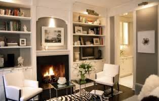 Built In Bookshelves Around Fireplace Fireplace Built Ins Transitional Living Room Paul