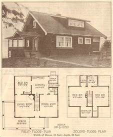 Vintage House Blueprints by 1915 House Blueprint Plan By Hewitt Lea Funck How To