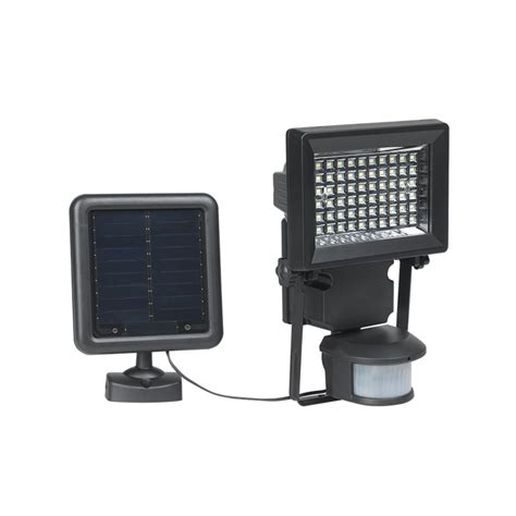 Duracell Solar Lights Duracell Black Led Solar Motion Security Light Bunnings