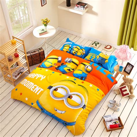 Minion Bedding minion bedding set ebeddingsets