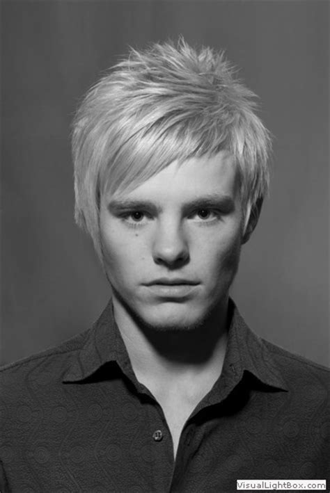 mens haircuts gold coast men s hair cut blonde medium length sweep styla com au