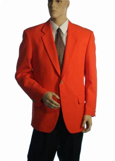 orange blazers for and children