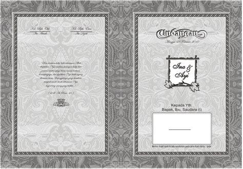template undangan hitam putih desain undangan pernikahan hitam putih ekkiyalkhahiri