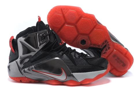 basketball shoes for sale cheap nike lebron 12 black silver basketball shoes for