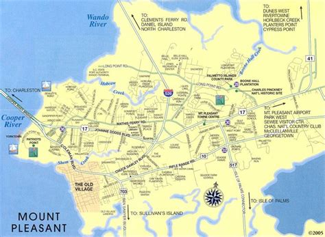 map of mt pleasant sc 25 best ideas about charleston sc map on map