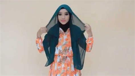 youtobe tutorial hijab syar i hijab tutorial chiffon syar i youtube