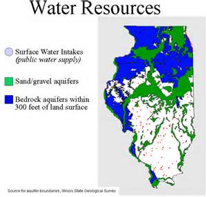 water aquifer map isws illinois water supply question 1