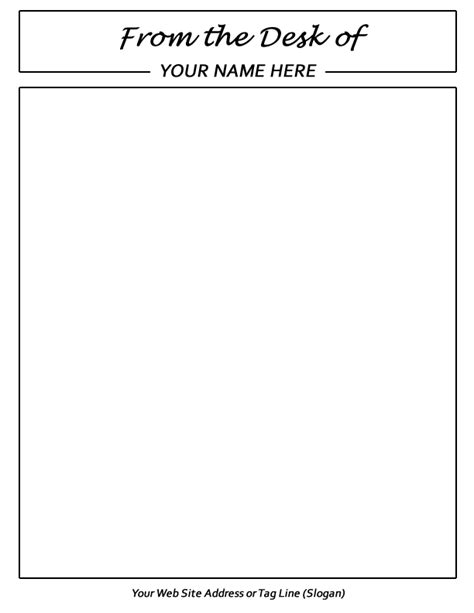 note pad templates templates