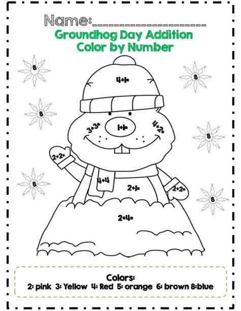 groundhog day number of days grade groundhog day math adventures common