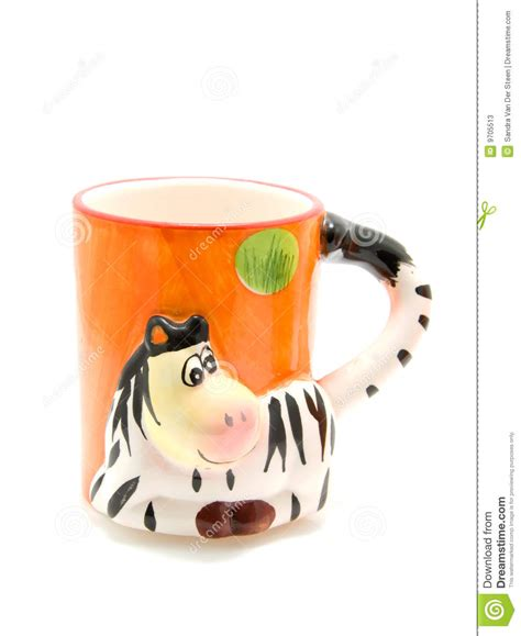 animal mug animal mug stock photos image 9705513