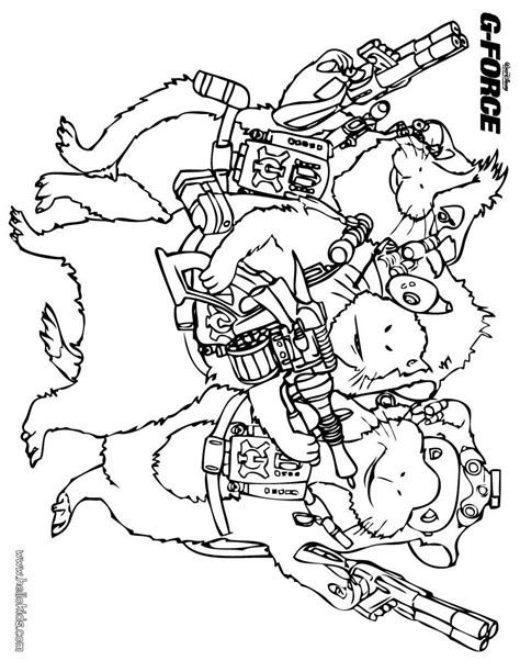 g force 5 free printable g force coloring pages
