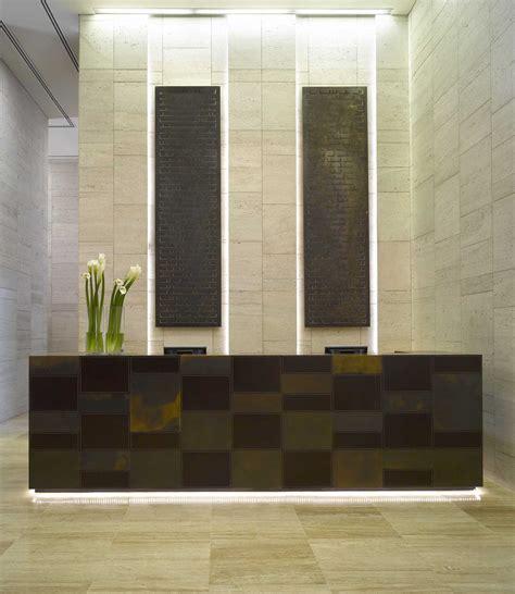 Studio hba residential design dramatic hotel inspired lobby luxury apartment by loversiq