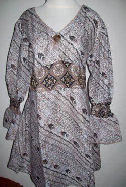 Jaguard Gliter Motif M Dan L batik busana muslim