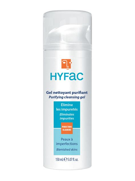 Wash Cleansing Gel Repack 75ml hyfac dermatological cleansing gel and 150ml cocooncenter