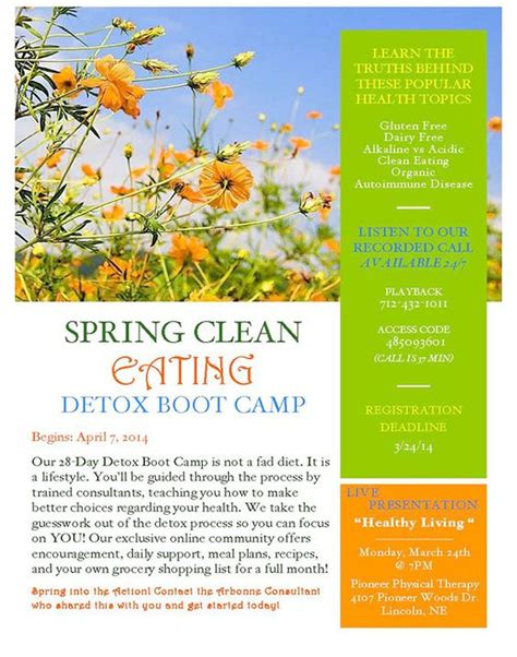 Arbonne Global Detox by Arbonne International Customized Marketing Material On
