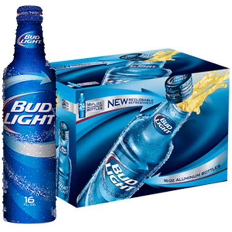 bud light aluminium bottles bud light twist and win hensley beverage company