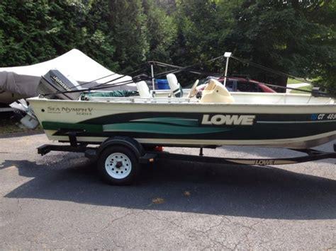 lowe aluminum fishing boat 2000 lowe 16 ft sea nymph aluminum fishing boat for sale