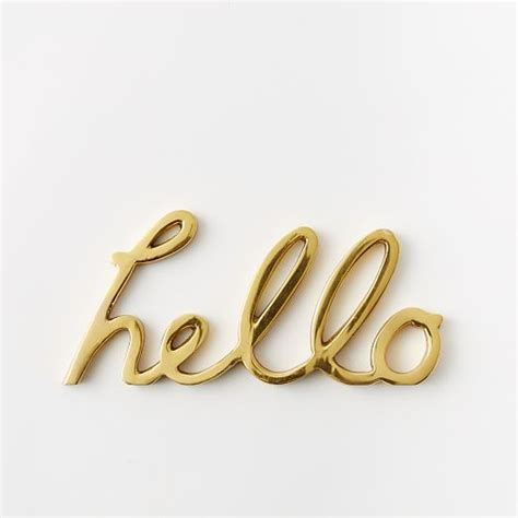 Vintage Home Decor Pinterest by Hello Word Object West Elm