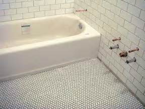 penny tiles: floor penny bathroom tile ideas for small bathrooms pictures to pin on