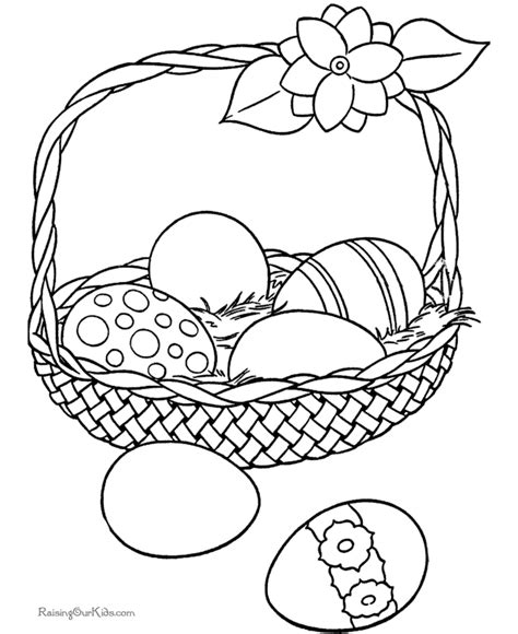 coloring pages of easter baskets easter basket coloring page coloring pages
