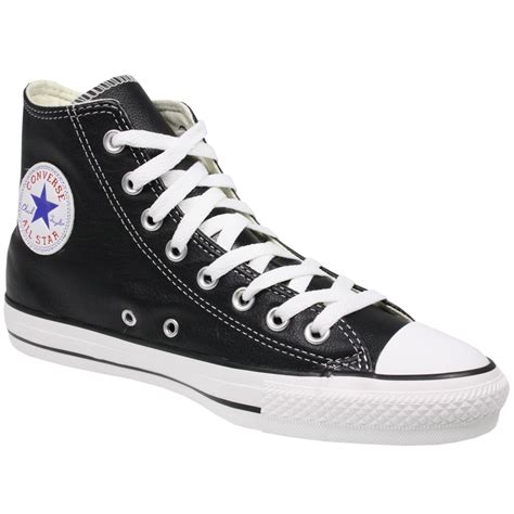 Converse All Black Unisex converse unisex all chuck 132170 black leather