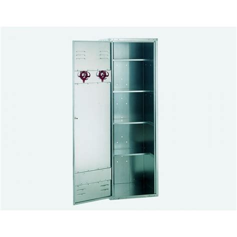 Shelf Locker by 4 Shelves Blank Locker 190cm High X 60cm Wide