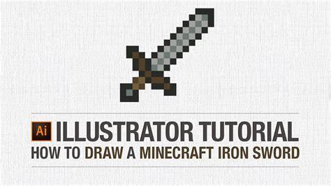 illustrator quote tutorial adobe illustrator tutorial how to draw a minecraft iron