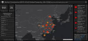 coronavirus outbreak map johns hopkins created  helpful