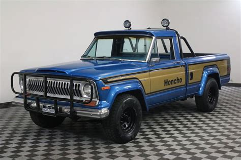 jeep honcho 1978 jeep j10 honcho gladiator restored na prodej