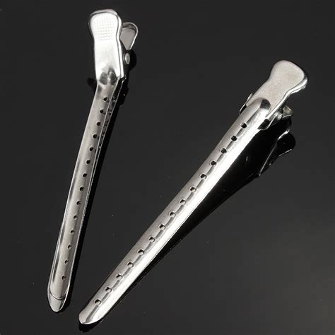 hairdressing clips ebay 10pcs metal hairdressing duck bill alligator clips