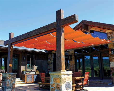 Sugarhouse Awning by Sugar House Awnings Slide Wire Canopies