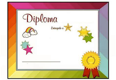 imagenes escolares para diplomas diplomas distinciones para escuela jard 237 n infantes