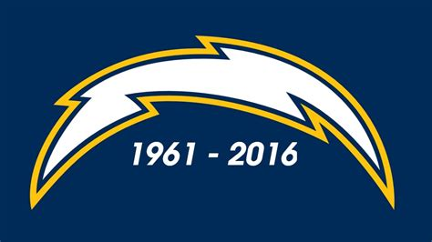 chargers san diego san diego chargers 1961 2016