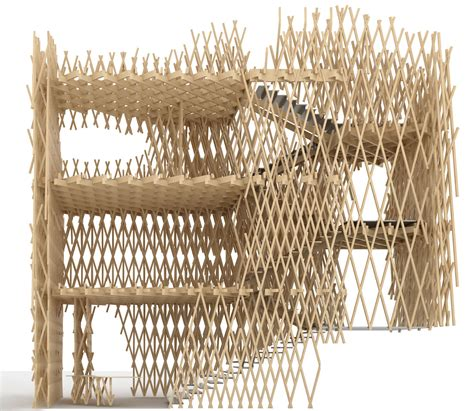 bamboo section bamboo basket shop by kengo kuma detail magazine of