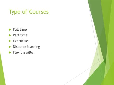 Fms Part Time Mba Fees by Mba
