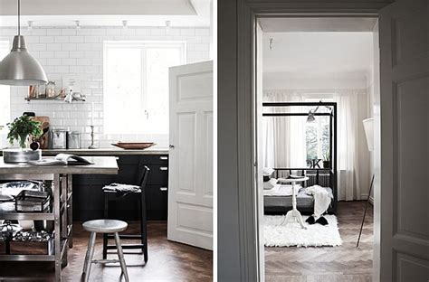 interior blog scandinavian house designed with simple black and white hues